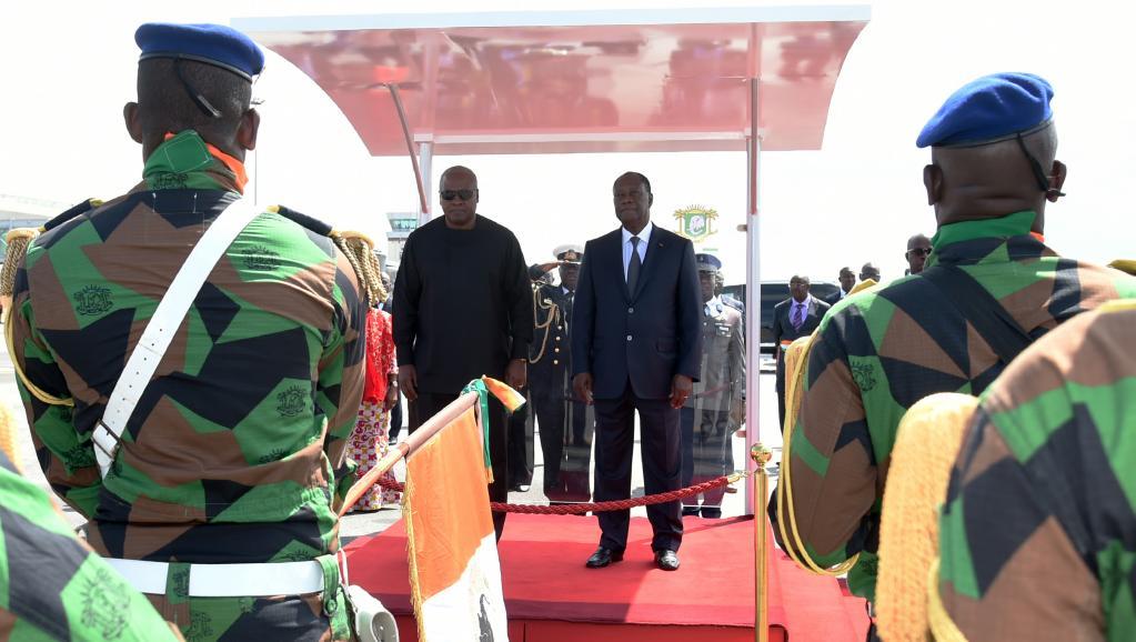Les réfugiés au menu de la visite du président ghanéen en Côte d'Ivoire