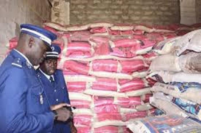 Après 90 sacs de riz impropre à la consommation, des produits alimentaires d'une valeur de 93 millions saisis