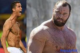 Quand La Montagne menace Cristiano Ronaldo