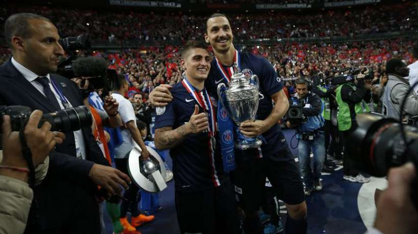 Ibrahimovic réclame Verratti à Manchester United