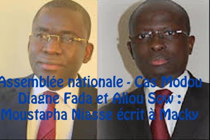 Assemblée nationale - Cas Modou Diagne Fada et Aliou Sow : Moustapha Niasse écrit à Macky