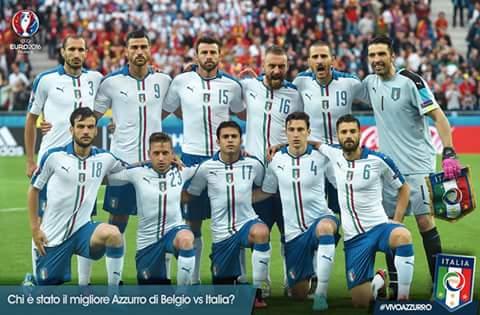 Direct Euro 2016: c'est parti pour le choc Belgique / Italie