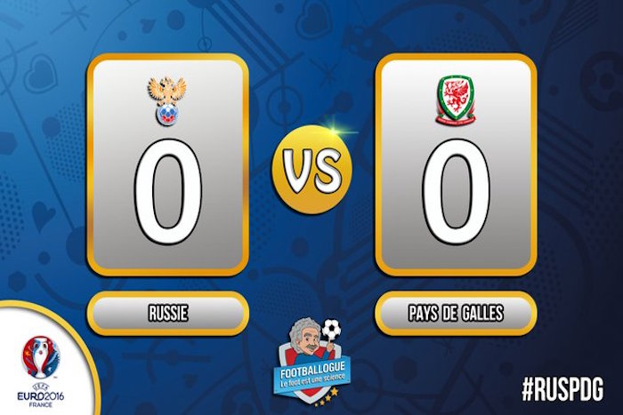 EN DIRECT. Euro 2016: RUSSIE 0 -  3 PAYS DE GALLES