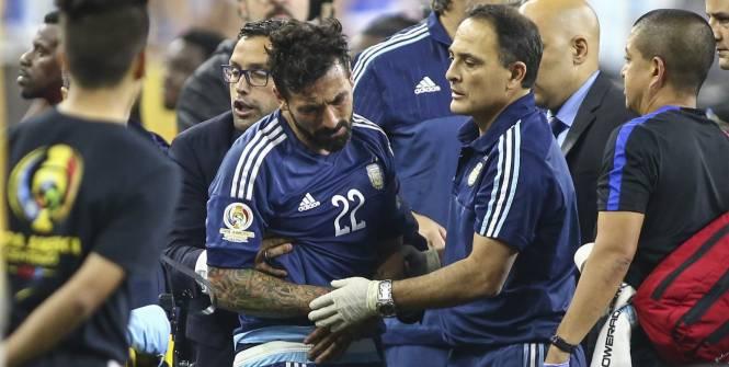 Fracture du coude pour l'Argentin Ezequiel Lavezzi
