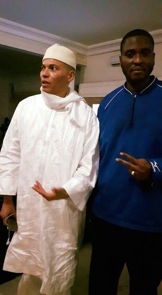 Libération de Karim Wade: Première image après sa sortie de prison
