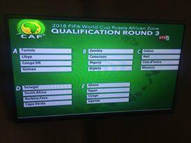 """Qualification au mondial 2018: Le Sénégal dans une poule D """"abordable"""""""