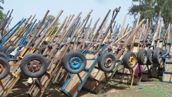 Kolda-Coupe abusive de bois : 1003 charrettes remplies de troncs d'arbres saisies en 6 mois