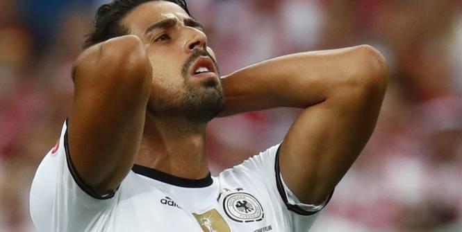 Allemagne : Sami Khedira forfait pour la fin de l'Euro