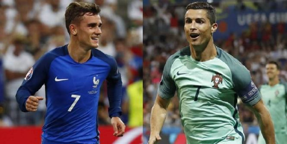 Euro : Antoine Griezmann ou Cristiano Ronaldo, à qui le Ballon d'Or ?