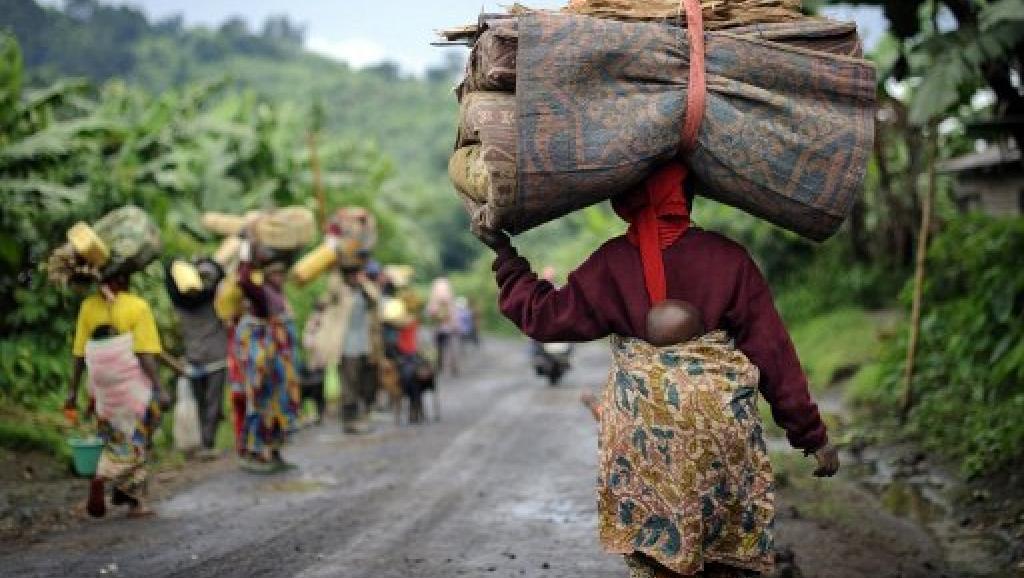 RDC: des milliers de personnes fuient les combats dans le Rutshuru