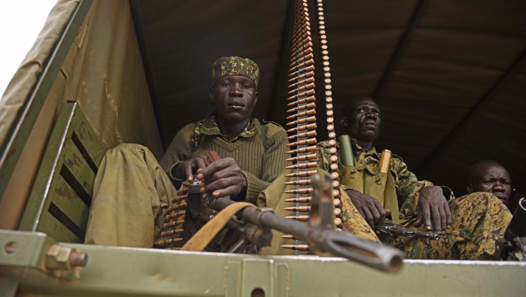 L'armée ougandaise sur le territoire du Soudan du Sud