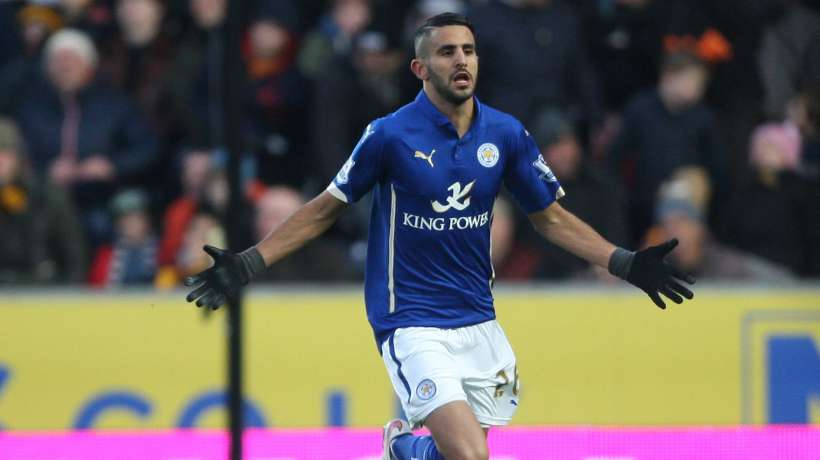 Manchester City passe à l'attaque pour Riyad Mahrez