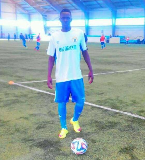 Football: Souleymane Diongue, un talent en progression en Ukraine