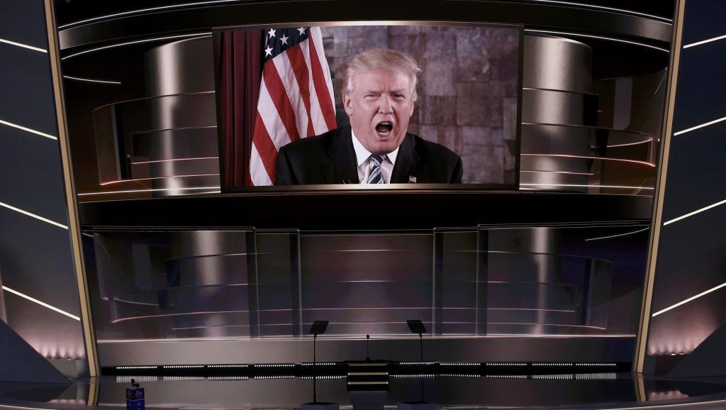 Trump officiellement désigné candidat des républicains à la Maison Blanche
