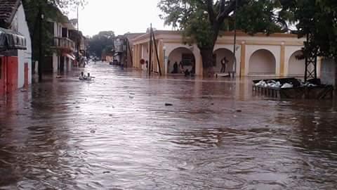 PHOTOS Première pluie à Thiès: les dégâts sont là