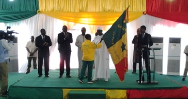 Remise du drapeau national pour les JO: Macky Sall dope les athlètes