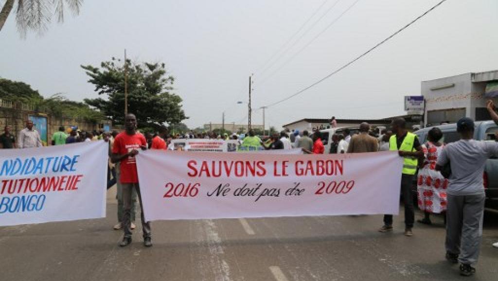 Gabon: la police disperse brutalement une manifestation de l'opposition