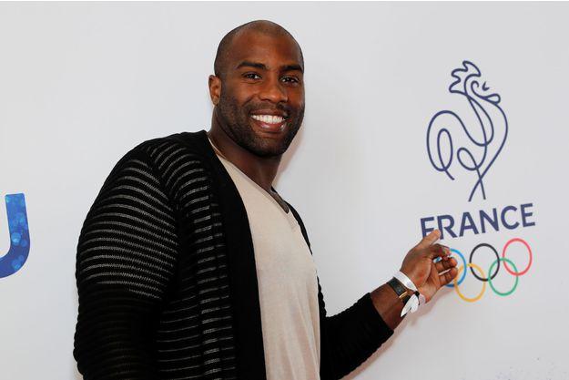 Teddy Riner, porte-drapeau français aux JO de Rio