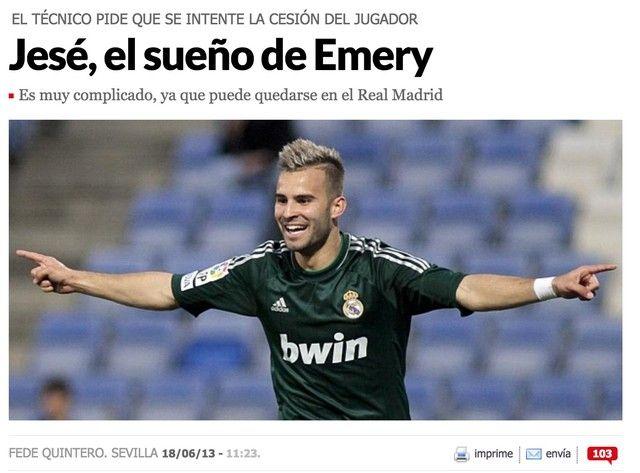 PSG : Jésé, une obsession pour Emery ?