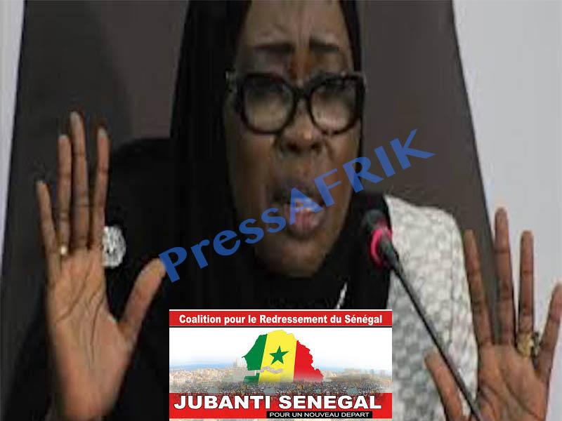 Recours pour abus de pouvoir: Jubanti Sénégal arme Nafi Ngom Keïta