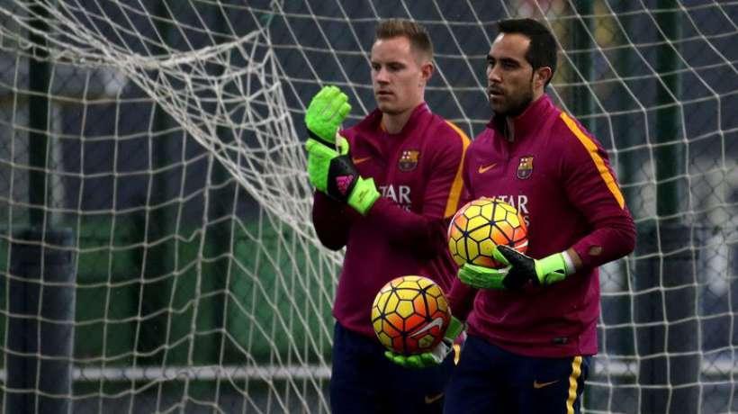 Ter Stegen et Bravo mettent la pression au Barça
