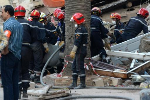 Maroc : Un mort, 19 blessés dans l'effondrement d'un immeuble à Casablanca
