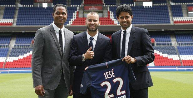 Transfert: l'attaquant espagnol Jesé (ex-Real Madrid) au PSG pour 5 ans