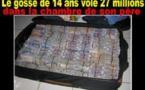 Affaire du garçon de 14 ans qui a volé 27 millions à son père: les complices entendus par le procureur