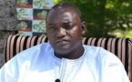 Au Sénégal depuis hier, Adama Barrow aurait perdu son fils de 8 ans resté en Gambie