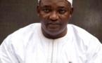 Cérémonie d'investiture : Adama Barrow est arrivé à l'ambassade de Gambie à Dakar