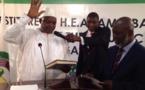 Prestation de serment : Le Président de la Gambie Adama Barrow appelle l'armée à rester dans les casernes