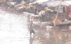 Sénégal-incendie au marché Syndicat de Pikine : le désastre