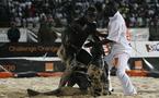"""Sénégal-lutte: Eumeu Sène brise l'élan du """"Lion de Guédiawaye"""""""