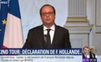 """VIDEO - """"Pour ma part, je voterai Emmanuel Macron"""", François Hollande"""