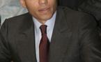 Karim Wade et des syndicalistes au salon du Bourget de l'aéronautique