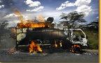 Casamance: deux camions incendiés et leurs occupants kidnappés