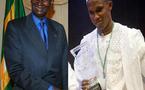 Prix d'honneur de la fondation Sport et vertus: Abdou Diouf décore Eto'o