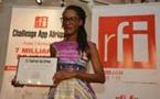 Raissa Banhoro (Côte d'Ivoire): lauréate de la 2ème édition du RFI Challenge App Afrique, avec l'émission « 7 milliards de voisin(e)s »