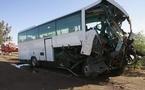 Kaolack : un accident routier fait 1 mort et 20 blessés