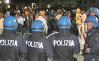 Vidéo - Arrestation brutale et sauvage d'un sénégalais par plus 10 policiers italiens