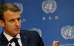 Macron rend hommage à Kofi Annan