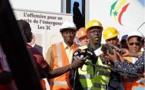 Le PM Mahammed Boun  Abdallah Dionne pose la première pierre de la société…