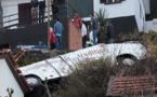 28 Allemands trouvent la mort dans un accident de bus touristique au Portugal (images et vidéo)