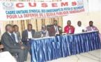 Education: Le CUSEMS organise son deuxième congrès à partir de samedi
