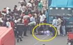 Thiaroye: un camion dérape et tue 4 personnes, le chauffeur prend la fuite (vidéo)