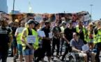 Paris: une marche des «mutilés Gilets jaunes» qui «ne lâcheront rien»