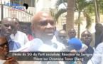 """Serigne Mbaye Thiam sur le décès de Tanor: """"des dispositions seront prises pour le rapatriement du corps""""."""