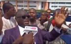 Vidéo insolite - Tribunal de Dakar: Me El Haj Diouf «violé» par les partisans de Sonko