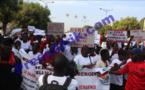"""Vidéo - Les ressortissants de 44 villages de Dandé Mayo ont marché ce vendredi à Dakar pour dénoncer """"un mépris des autorités"""""""