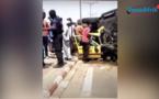 Vidéo-Grave accident à Colobane: Un camion de la gendarmerie se renverse et écrase deux taxis